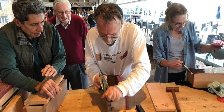 TONGUE DRUM WORKSHOP with Robert Towler @ ILLAWARRA FESTIVAL OF WOOD 2019 Event Banner