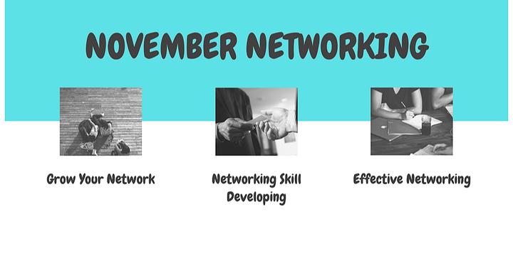 November Networking Event Banner