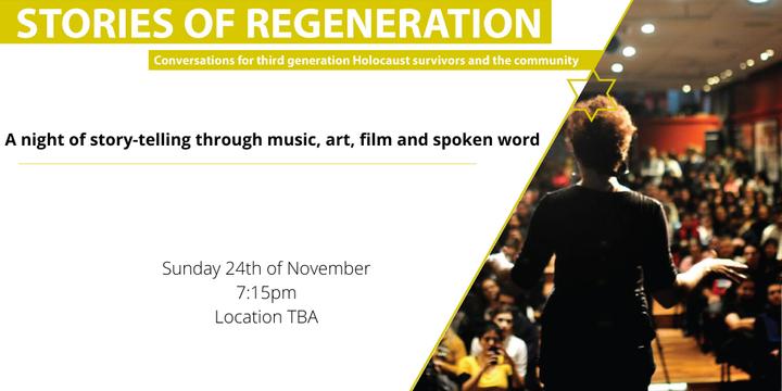 Stories of Regeneration Event Banner