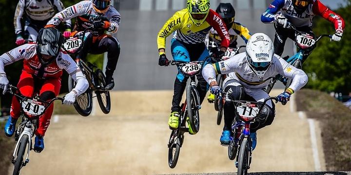 UCI BMX Supercross World Cup Bathurst Event Banner