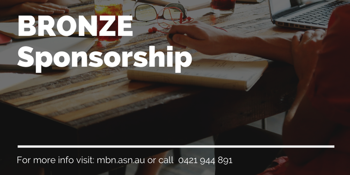 2020 Manningham Business Network Inc - Bronze Sponsorship Event Banner