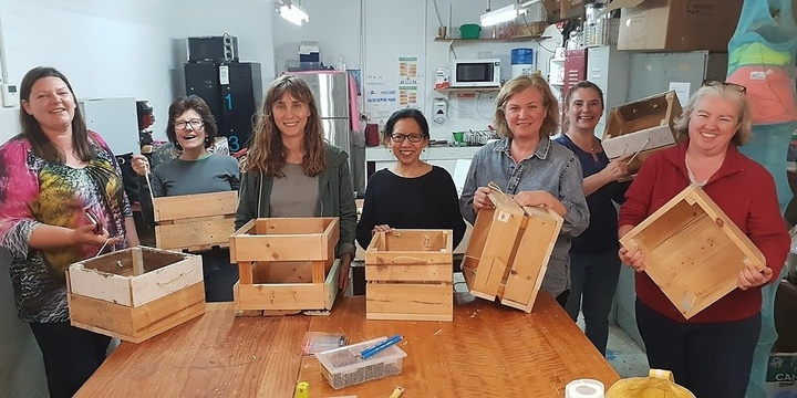 Parramatta Women's Shed - Skills Lesson - Working with Timber - Part A Event Banner