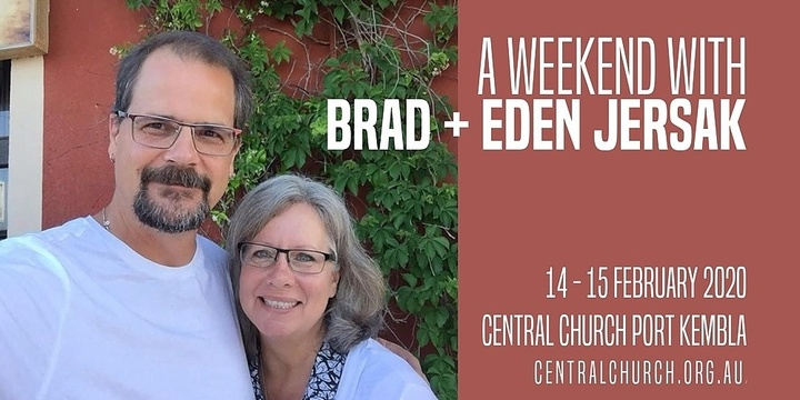 Friday Long Lunch with Brad and Eden Jersak Event Banner