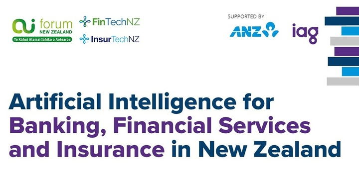AI in New Zealand Banking, Financial Services and Insurance Event Banner