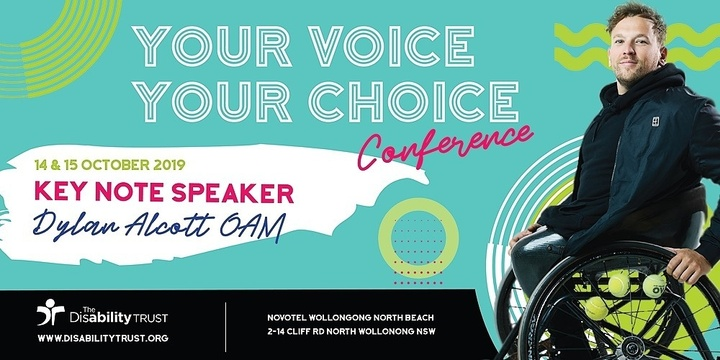 Your Voice Your Choice Conference 2019 Event Banner
