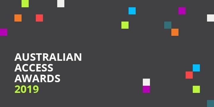 Australian Access Awards 2019 Event Banner