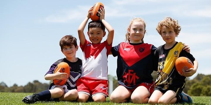 NAB AFL Auskick Footy Frenzy Event Banner