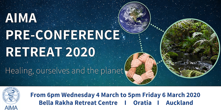 AIMA Pre-Conference Retreat 2020 Event Banner