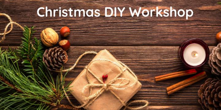 Christmas Gift Workshop Event Banner
