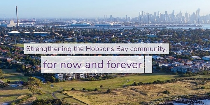 Hobsons Bay Community Fund 2020 Charity Golf Day Event Banner