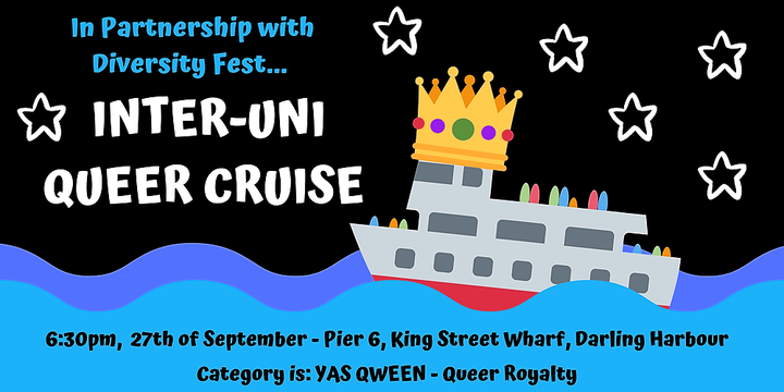 Inter-uni Queer Cruise Event Banner