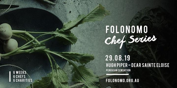 Folonomo Pop-up Chef Series with Hugh Piper from Dear Sainte Eloise Event Banner