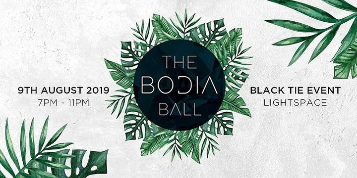 The Bodia Ball 2.0 Event Banner