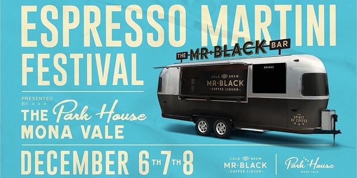 Mr Black Espresso Martini Festival Event Banner