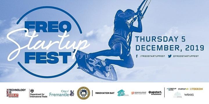 Freo Startup Fest 2019 Event Banner