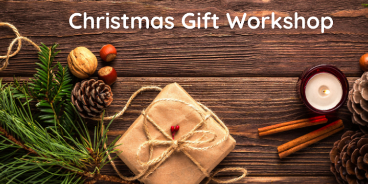 Christmas Gift Workshop Event Banner
