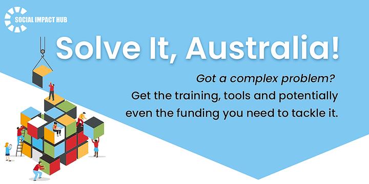 Solve It, Australia! Event Banner