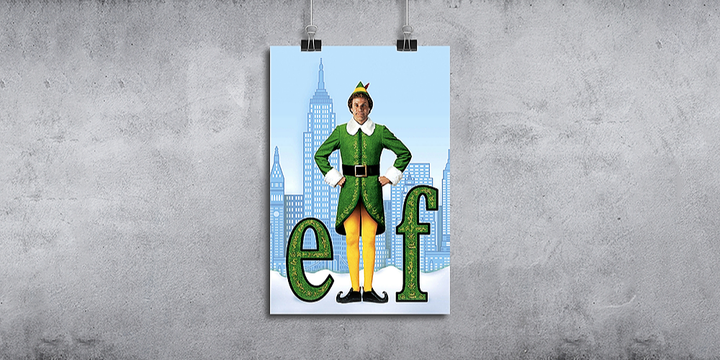Christmas Movies: Elf Event Banner