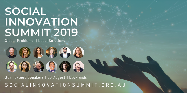 Social Innovation Summit 2019 Event Banner