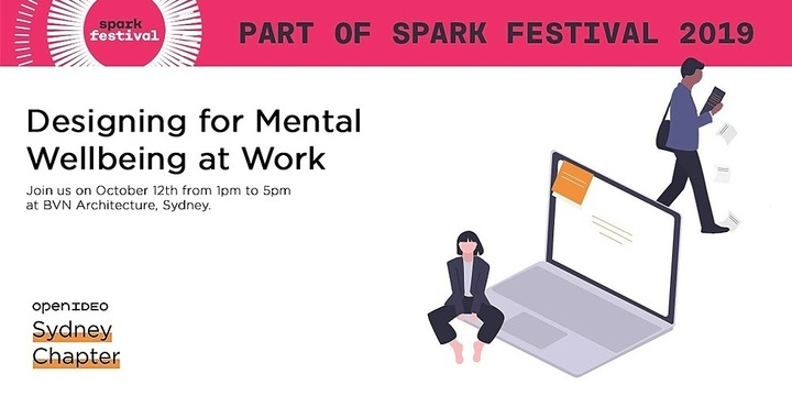 Designing for Mental Wellbeing at Work Event Banner