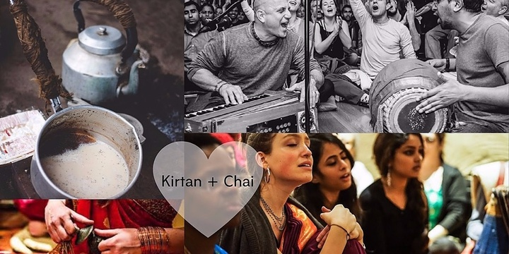 Kirtan and Chai Event Banner