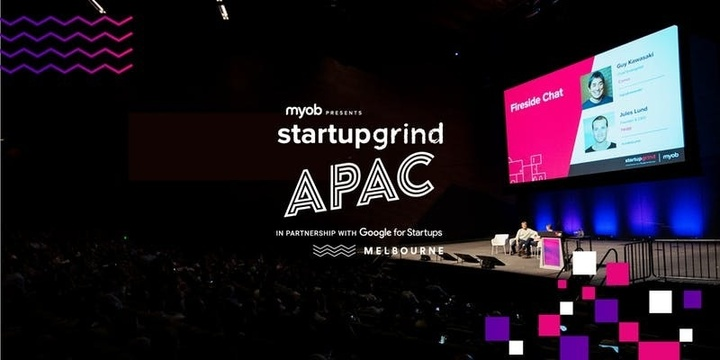 The Startup Grind APAC Conference presented by MYOB 2019 Event Banner