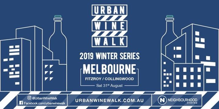 Urban Wine Walk (Fitzroy / Collingwood) Event Banner