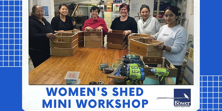 Parramatta Women's Shed -Skills Lesson -Working with Timber -Part B Event Banner