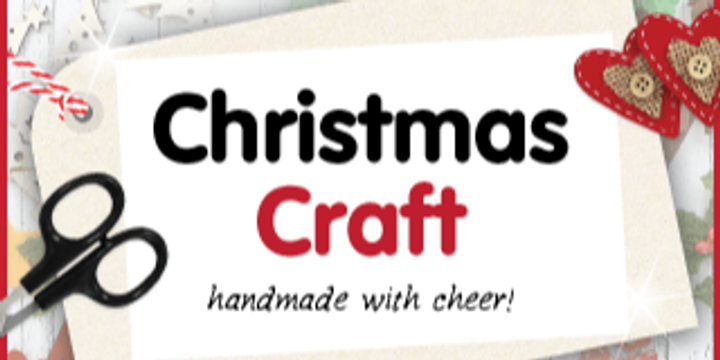 Christmas gift making workshop Event Banner