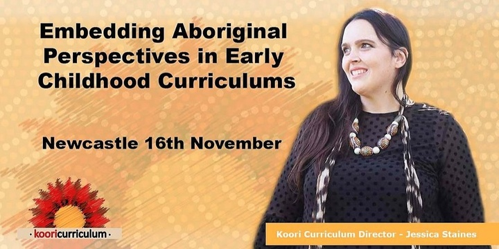 Newcastle - Embedding Aboriginal Perspectives in ECE Event Banner