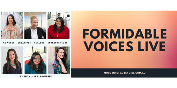 Formidable Voices Live: Rising Voices of Black, Indigenous & Womxn of Colour Event Banner