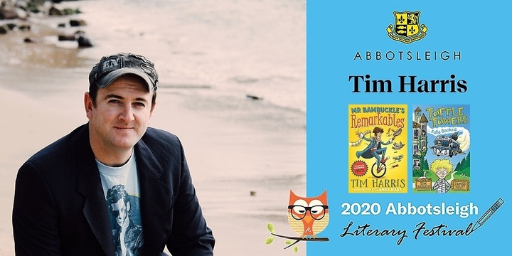 12.20pm Session - Tim Harris at the Abbotsleigh Literary Festival 2020 Event Banner