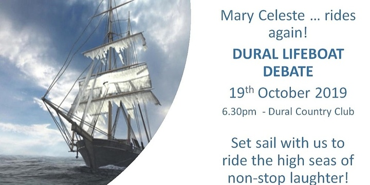 Dural Lifeboat Debate Event Banner