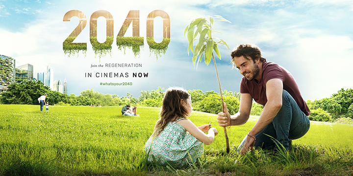 2040 Film Screening - Sustainable Ōtautahi Christchurch Event Banner