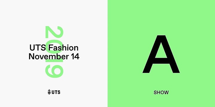 UTS Fashion 2019 / Show A Event Banner