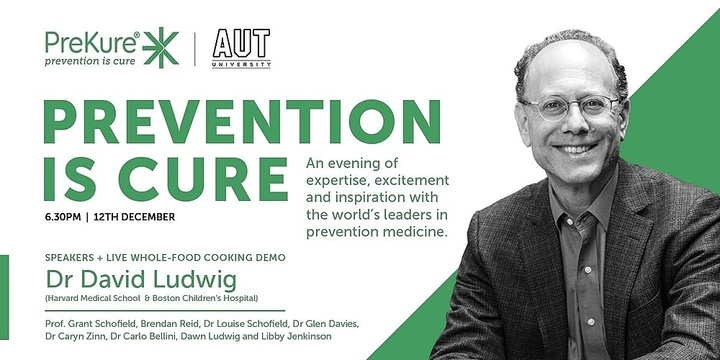 An evening of expertise, excitement and inspiration with the world's leaders in prevention medicine Event Banner