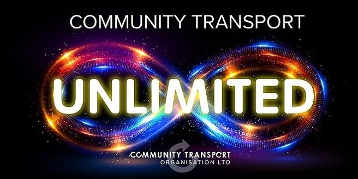 Community Transport Organisation Unlimited Conference 2019 Event Banner