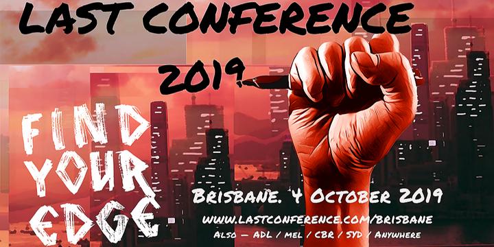LAST Conference Brisbane 2019 Event Banner