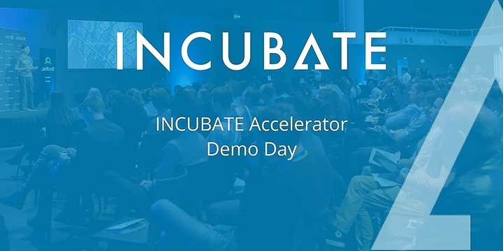 INCUBATE Startup Accelerator Demo Day Event Banner