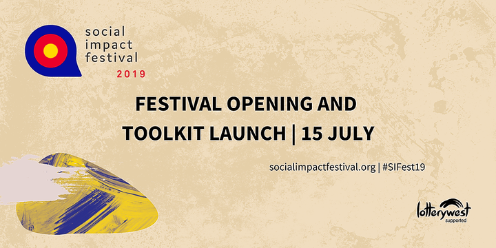 Festival Opening & Social Impact Toolkit Launch 2019 Event Banner