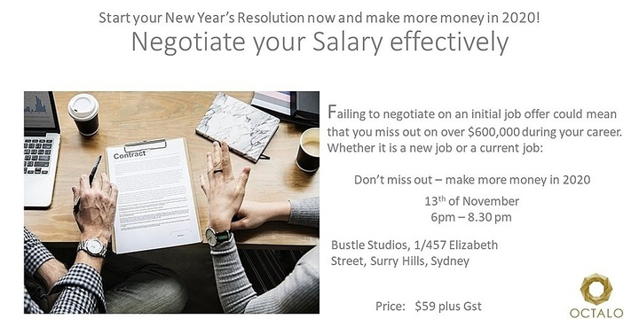 Want to make more money in 2020? Then start by learning how to negotiate your salary effectively. Event Banner