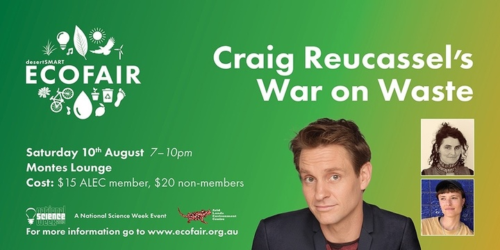 Craig Reucassel's War on Waste - SOLD OUT Event Banner