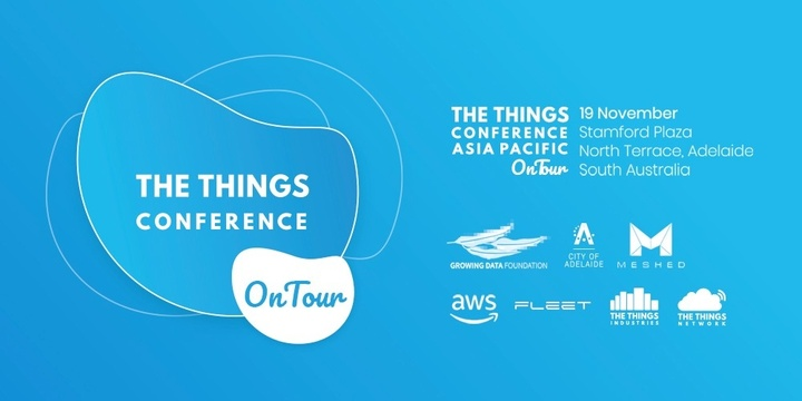 The Things Conference Asia Pacific On Tour 2019 Event Banner