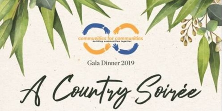 """A Country Soiree"" - C4C's 2019 Gala Dinner Event Banner"