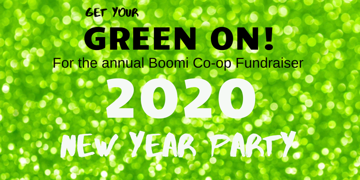 Boomi NYE Party Event Banner