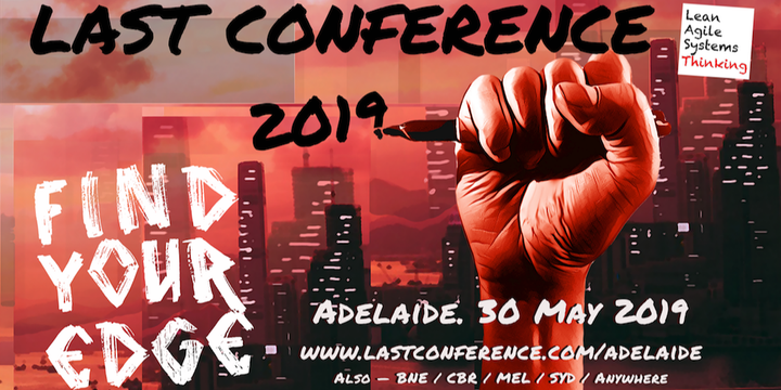 LAST Conference Adelaide 2019 Event Banner