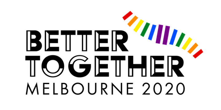 Better Together 2020 LGBTIQ+ National Conference Event Banner