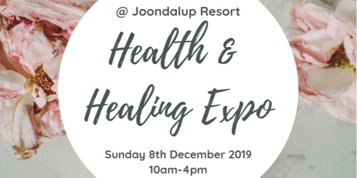 Health and Healing Expo Event Banner