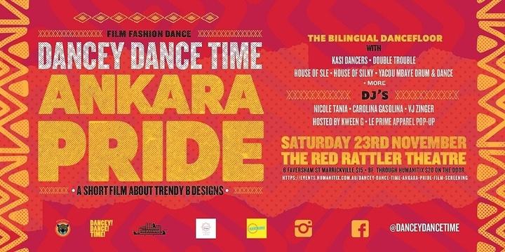DANCEY DANCE TIME: ANKARA PRIDE Film Screening Event Banner
