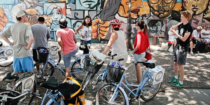 The Big Draw: Bike & Draw Urban Sketch Fiesta Event Banner